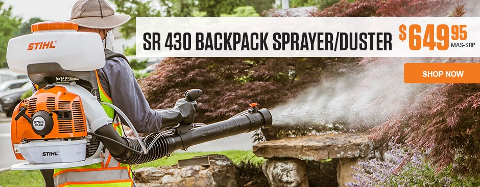 SR 430 Backpack Sprayer/Blower